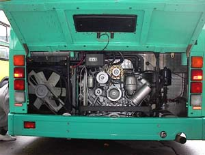 Моторный отсек лиаза 5256 25 выставочный